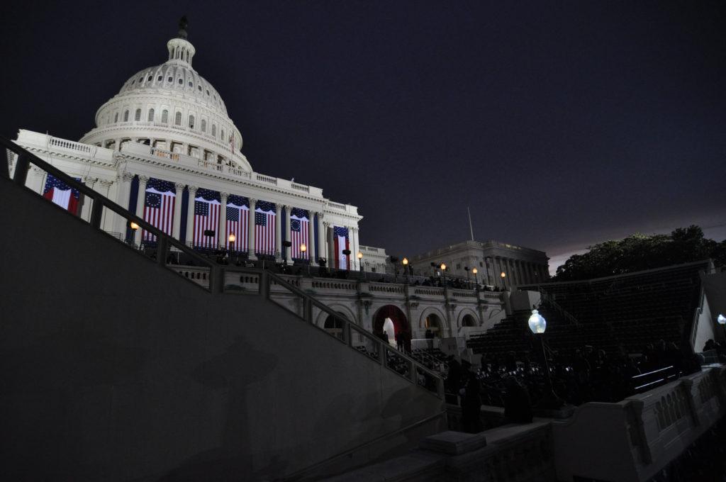 The Capitol prepares for its quadrennial close-up. Gosh, it's pretty.