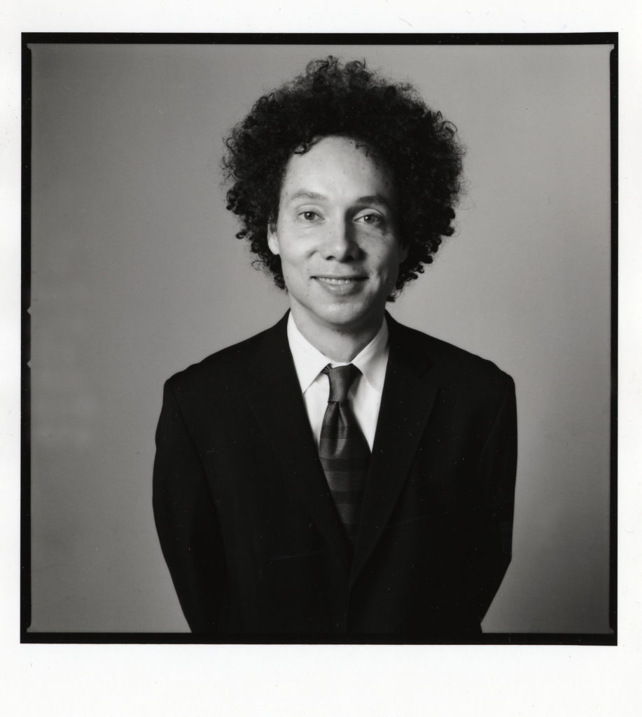 Malcolm Gladwell doesn't really cry. But he'd like it if you did.