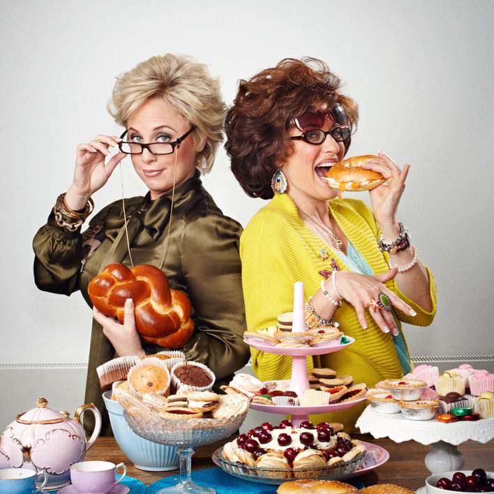 Ronna and Beverly are never not snacking. And thank God for that.