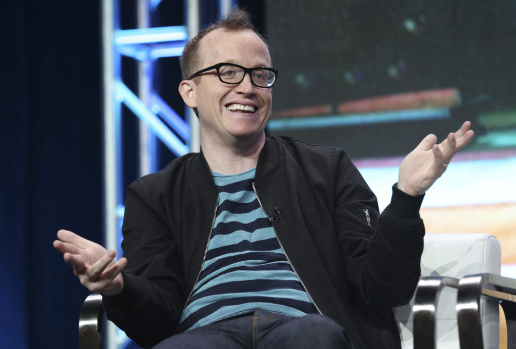 Comedian Chris Gethard loves stripes and strangers.